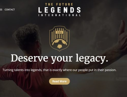 Nieuwe website voor The Future Legends International