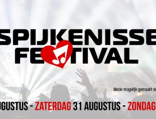 Isaeus voor de 17e keer sponsor SpijkenisseFestival!